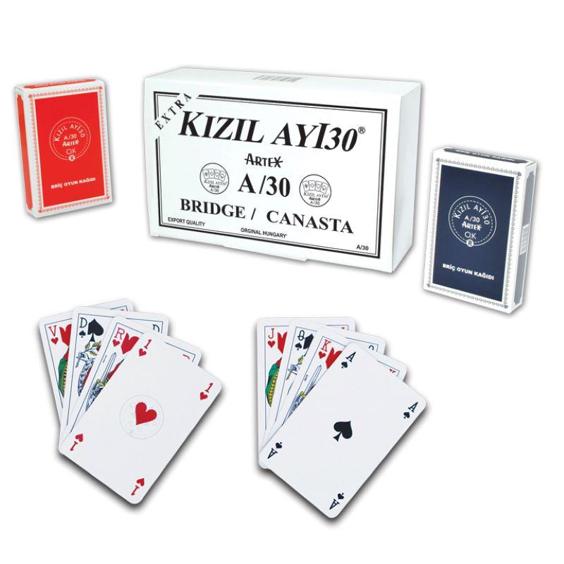 Ext. KIZILAYI30 Artex A/30 Oyun Kağıdı