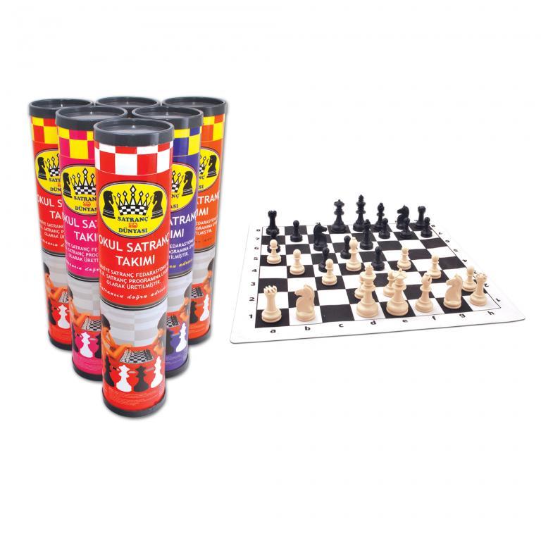 Chess World Roll Cylinder Chess Big