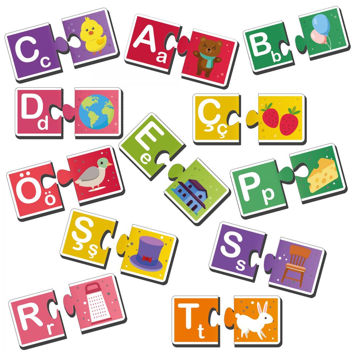 Alfabe Öğreniyorum