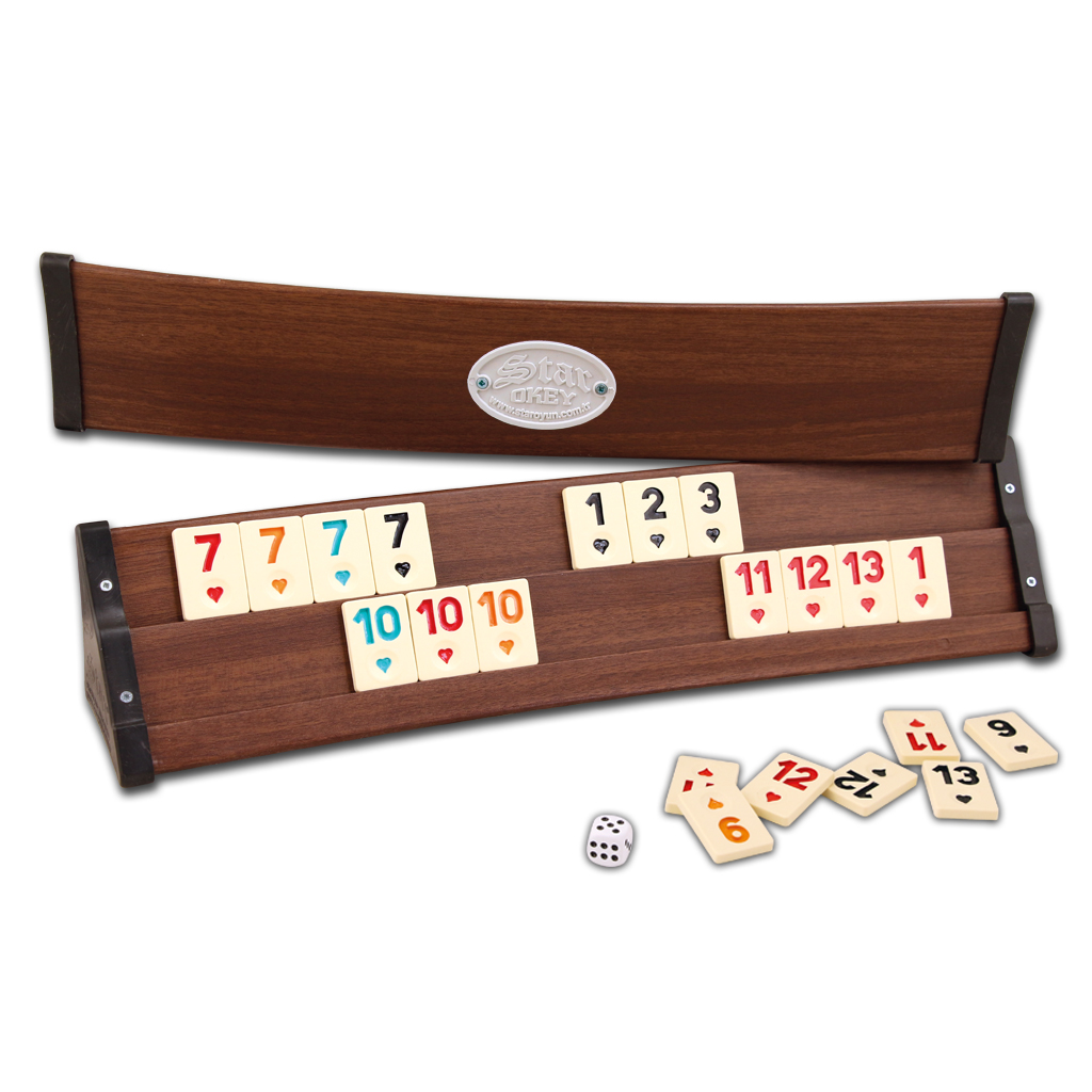 101 Curved Rummy Set