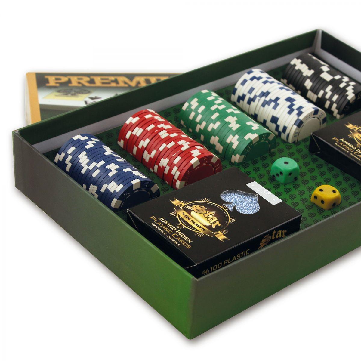 Premium Poker Seti