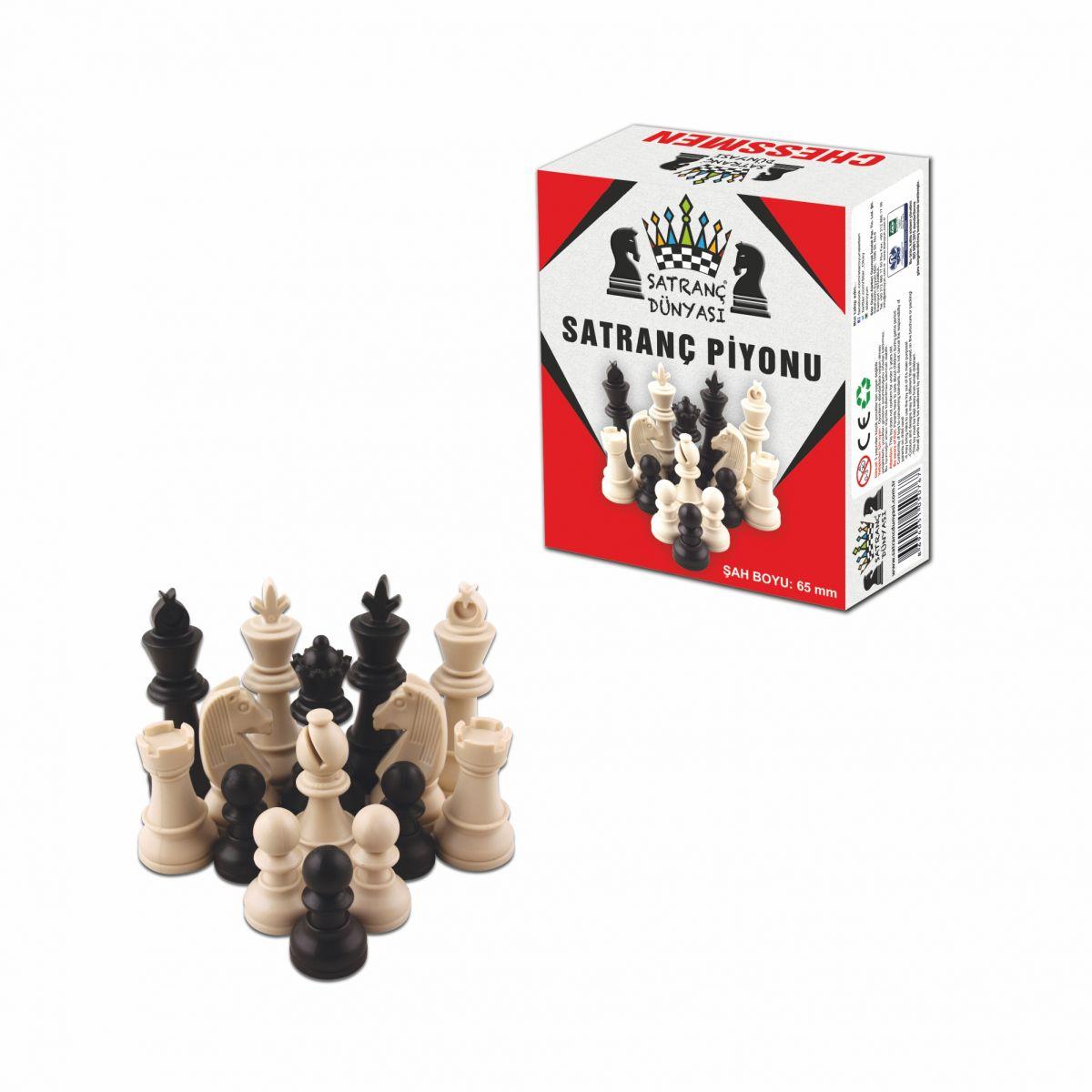 Satranç Dünyası Piyonu Orta