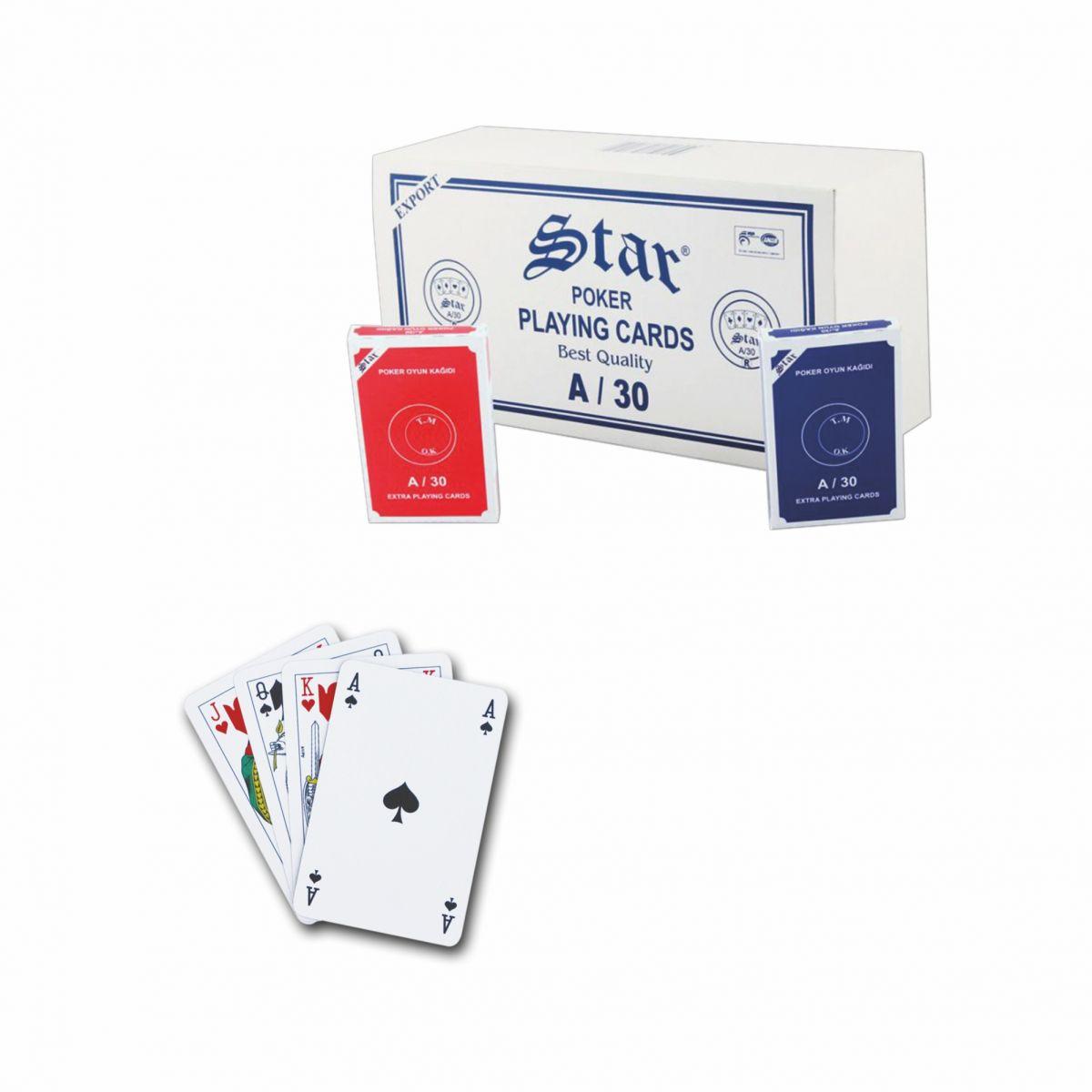 Star Ekstra Poker Oyun Kağıdı