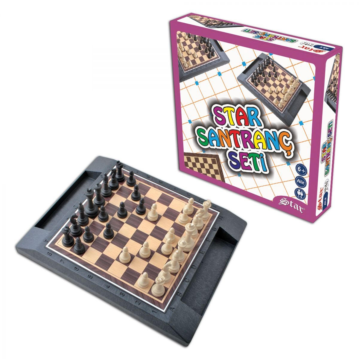 Plastic Chess Set