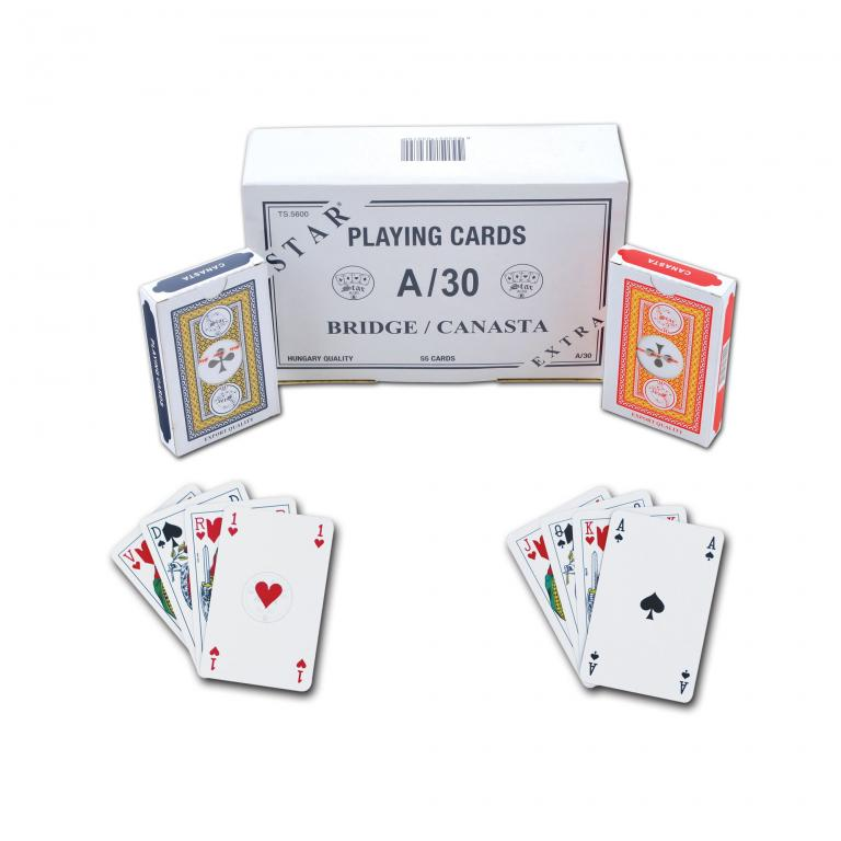 Star Extra  A-30 Playing Cards