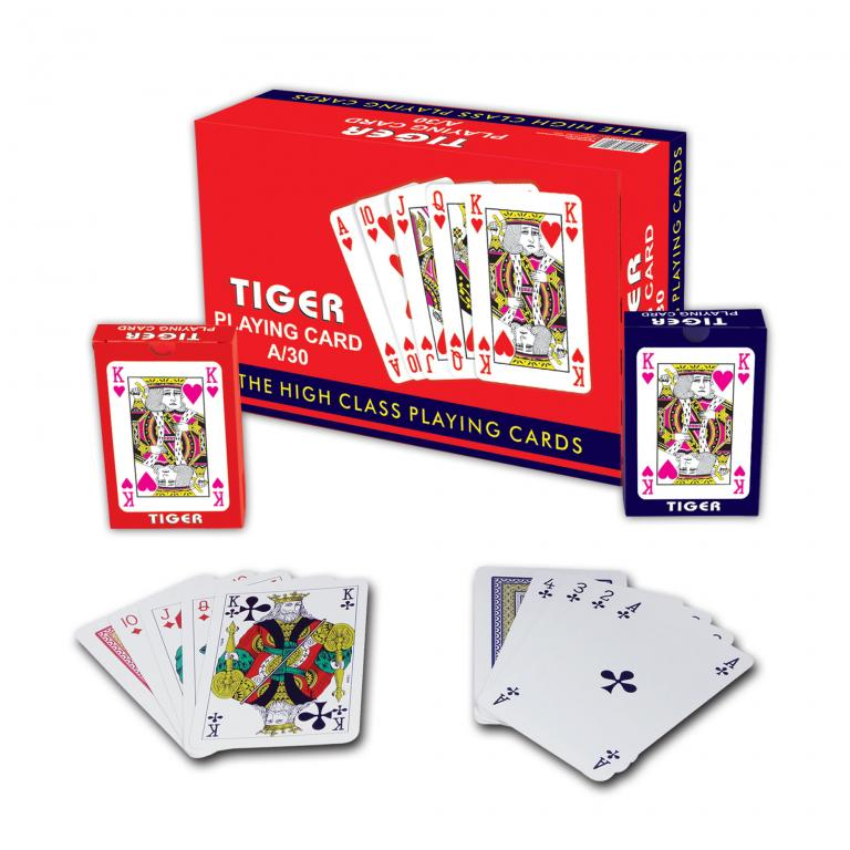 Tıger  Playing Cards