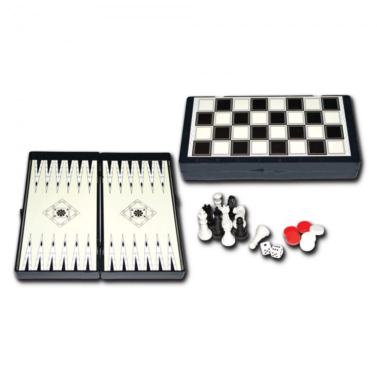 Star Magnetic Backgammon - Chess