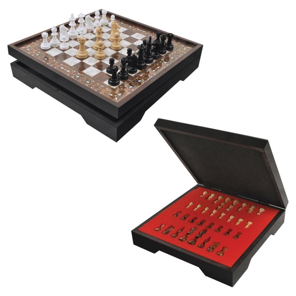 Star VIP Chess Set Nacre