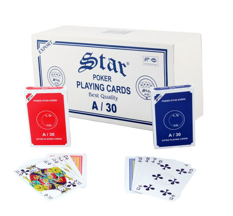 Star Poker Playing Cards